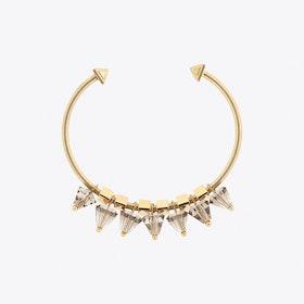 Sevenwings II Cuff in Gold