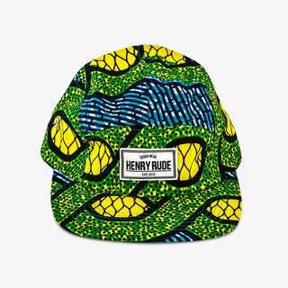 Mufasa Cap in Blue and Green