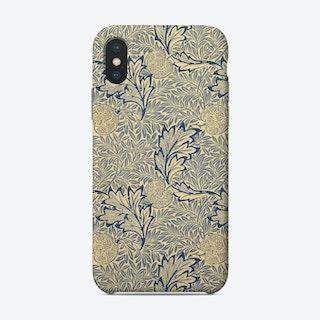 Apple William Morris Phone Case