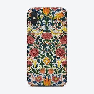Red Rose William Morris Phone Case