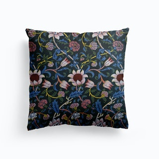 Evenlode Chintz William Morris Canvas Cushion