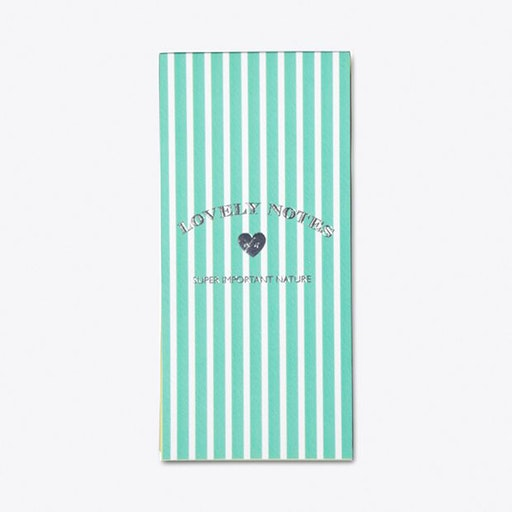 Stripes Luxe Notepad