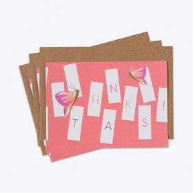 Geo Thank You Card Set