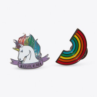 Rainbow Majesty Pin Set