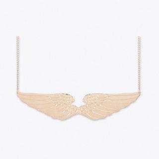 Winged Pendant Rose Gold