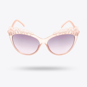 Audrey Sunglasses in Pale Pink