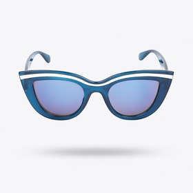0779651cc9a4 Scarlett Sunglasses in Dark Blue