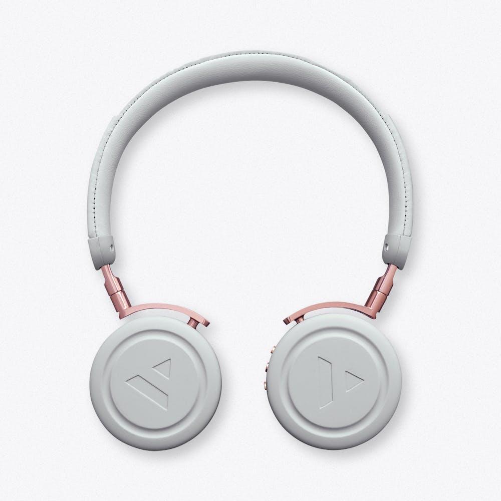 Commute Misty Grey Wireless Bluetooth Headphones