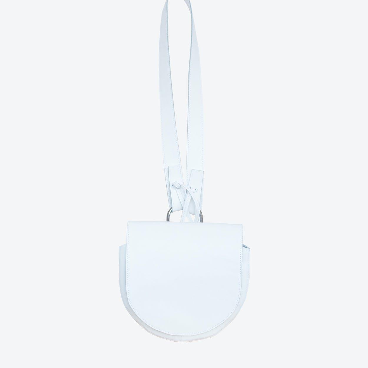 Pluto Shoulder Bag in White