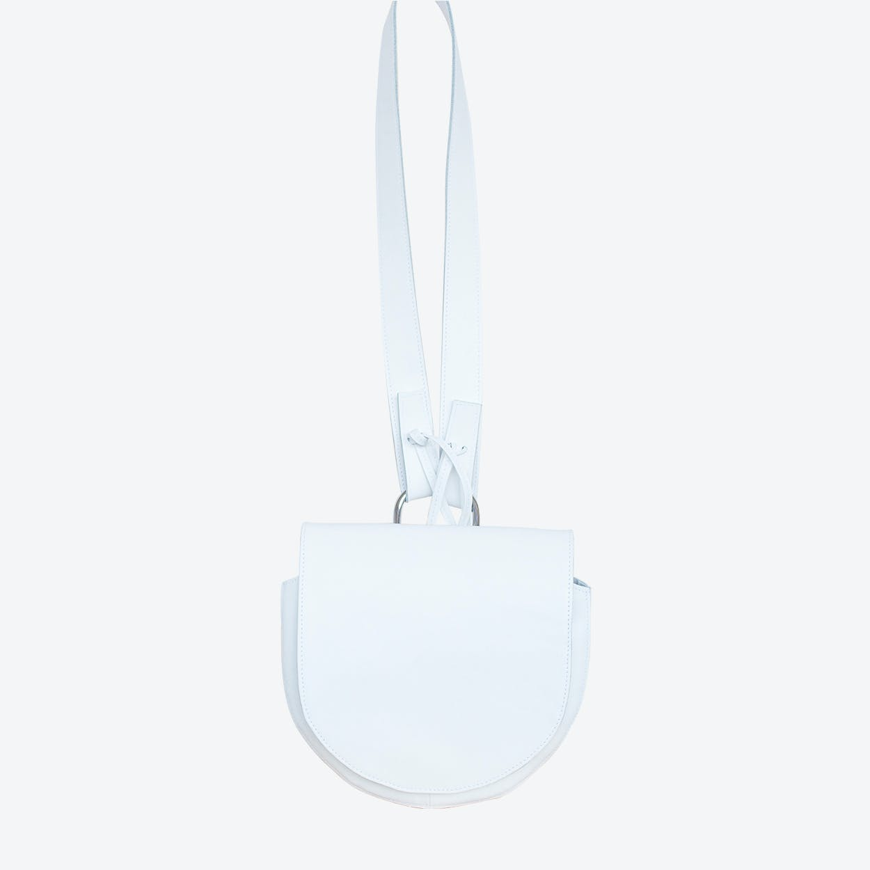 Pluto Shoulder Bag in White