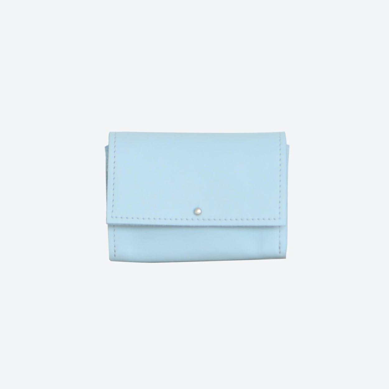 Mini Wallet in Light blue