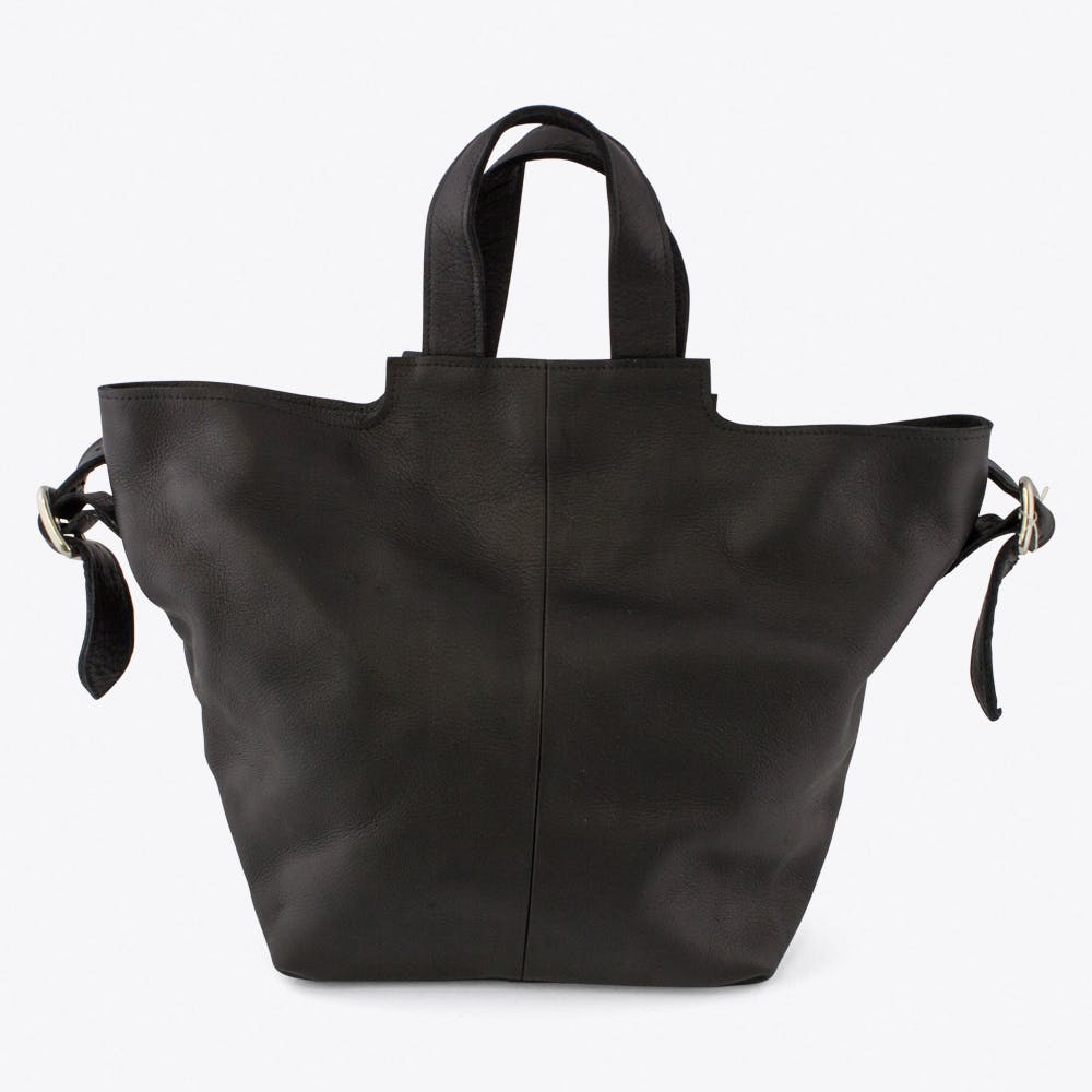 The Slouchy Bag in Black