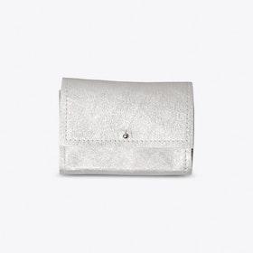 The Mini Wallet in Silver