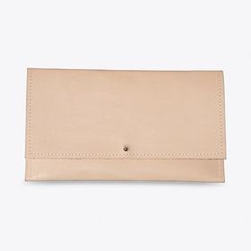 The Simple Wallet in Nude