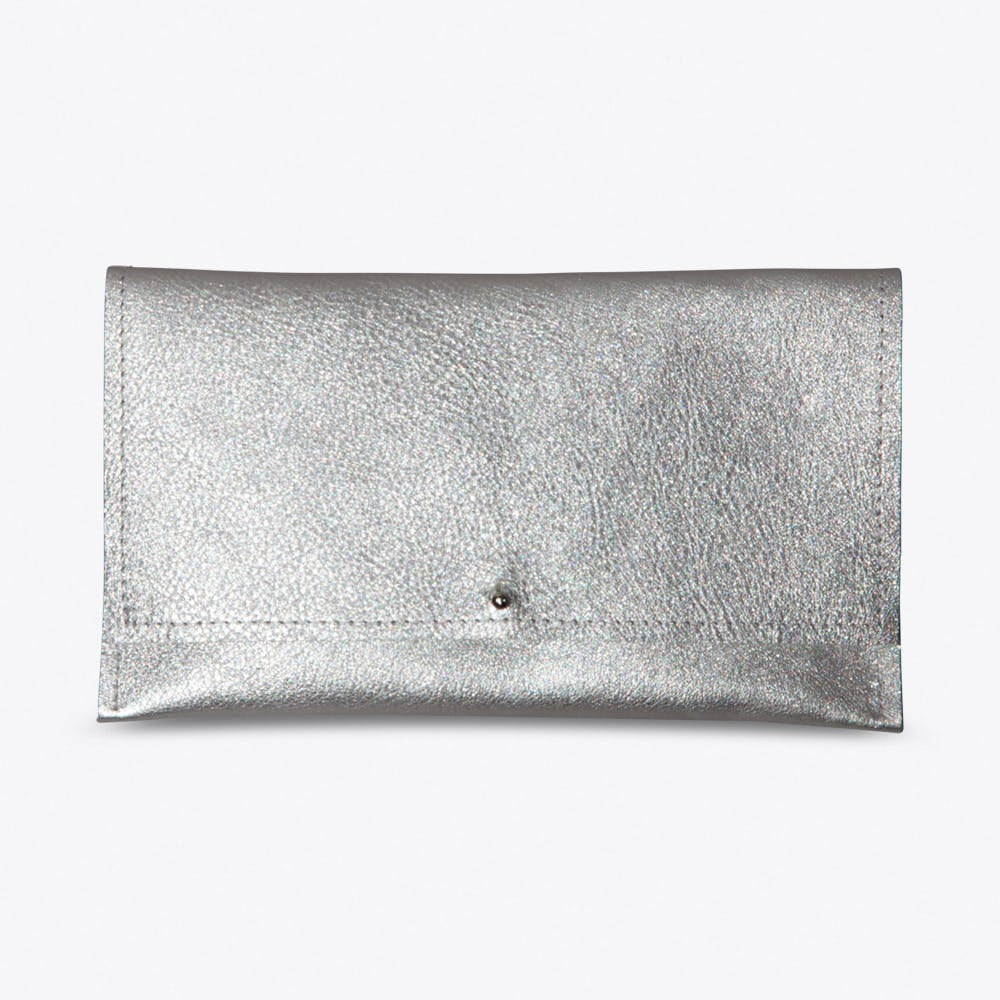 The Simple Wallet in Silver