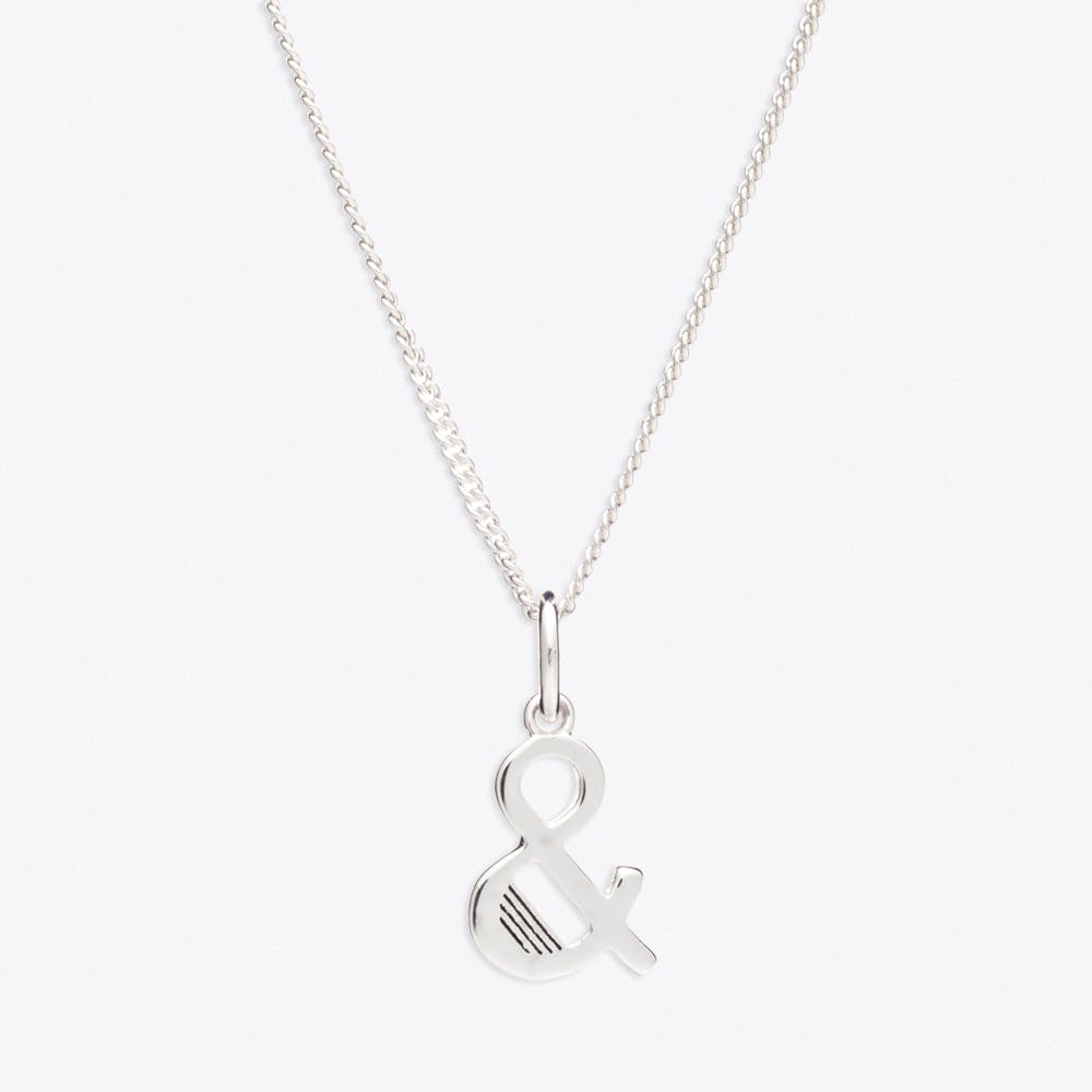 & Initial Necklace