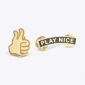 Play Nice Pin Set
