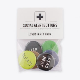 Loser Badge Set