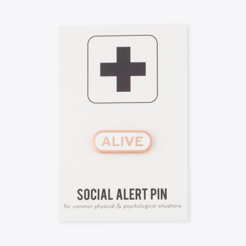 Alive Pin
