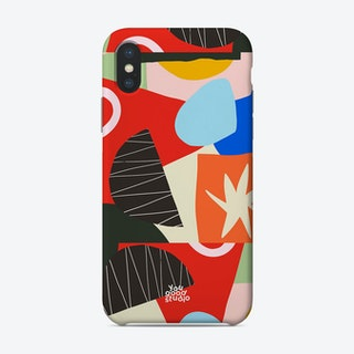 Colourful Block Pattern Phone Case