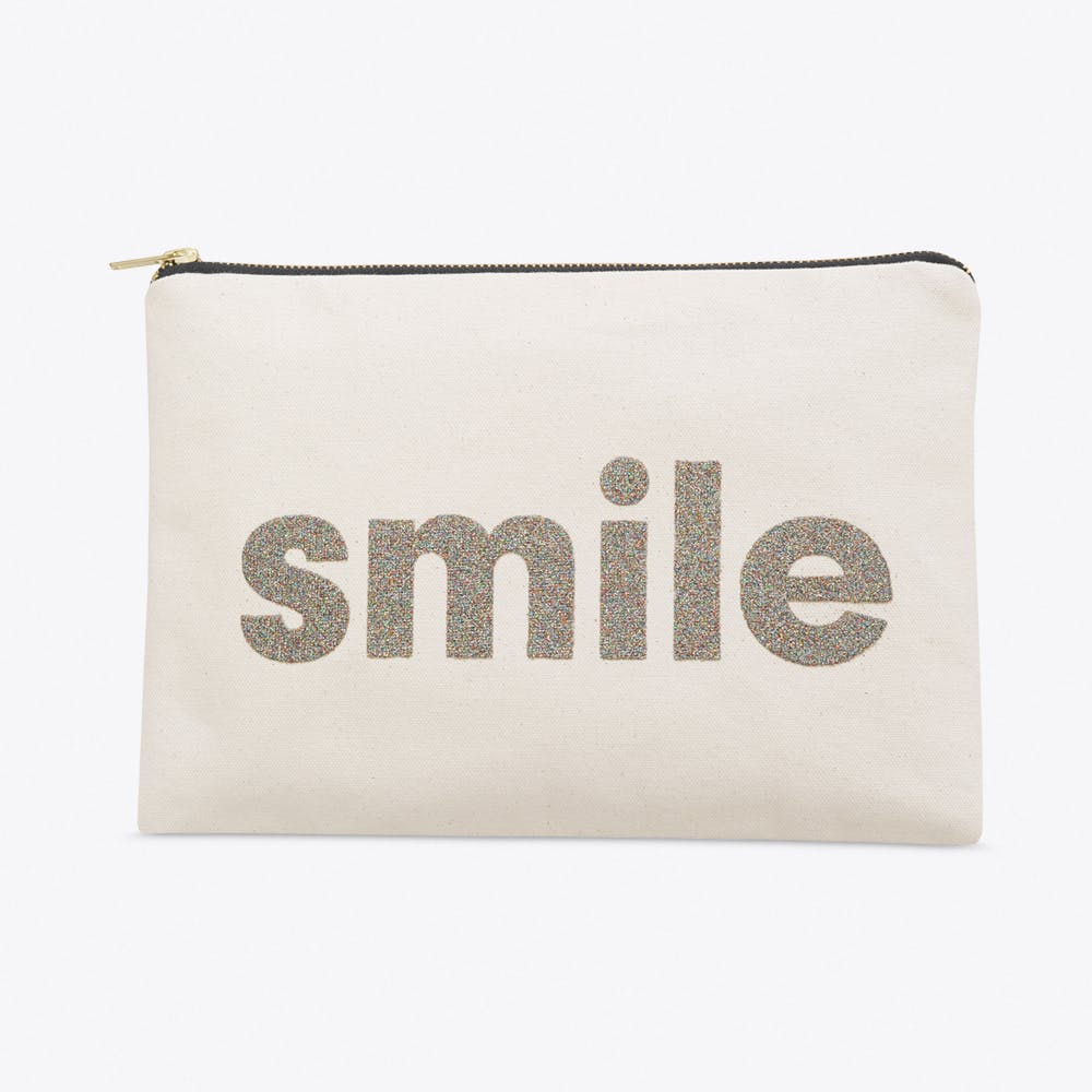 Smile Large Pouch