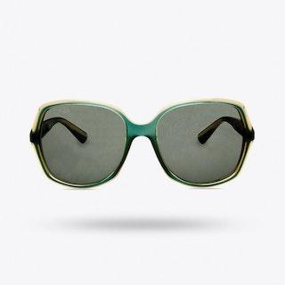 Kismat Sunglasses in Aquamarine