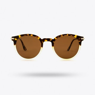Ethereal Sunglasses in Tortoise & Crystal