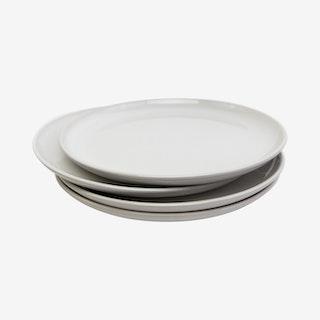 La Marsa Dinner Plates - Pearl - Set of 4