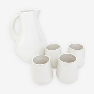 La Marsa Cup Set - Pearl - Set of 5