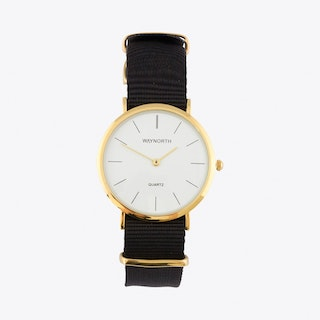 Black/Gold Watch