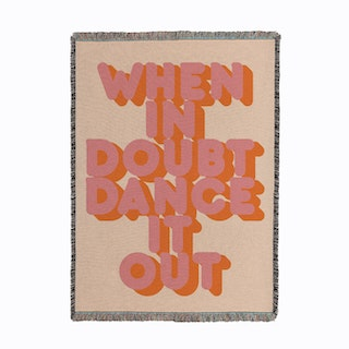 Dance It Out Woven Throw