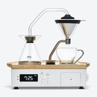 Barisieur Coffee Machine / Alarm Clock - White