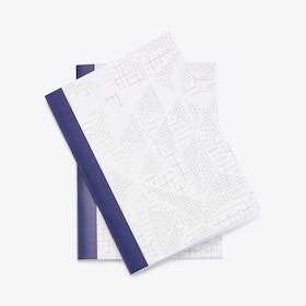 Isometric A5 Notebook Set