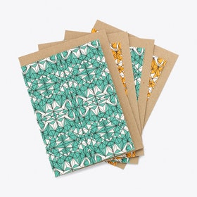 Geometric No.1 Greeting Card Set