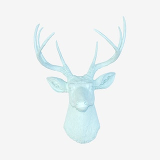 Faux Deer Mount - Sea Foam