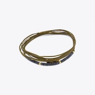 Cordella Bracelet in Olive Green