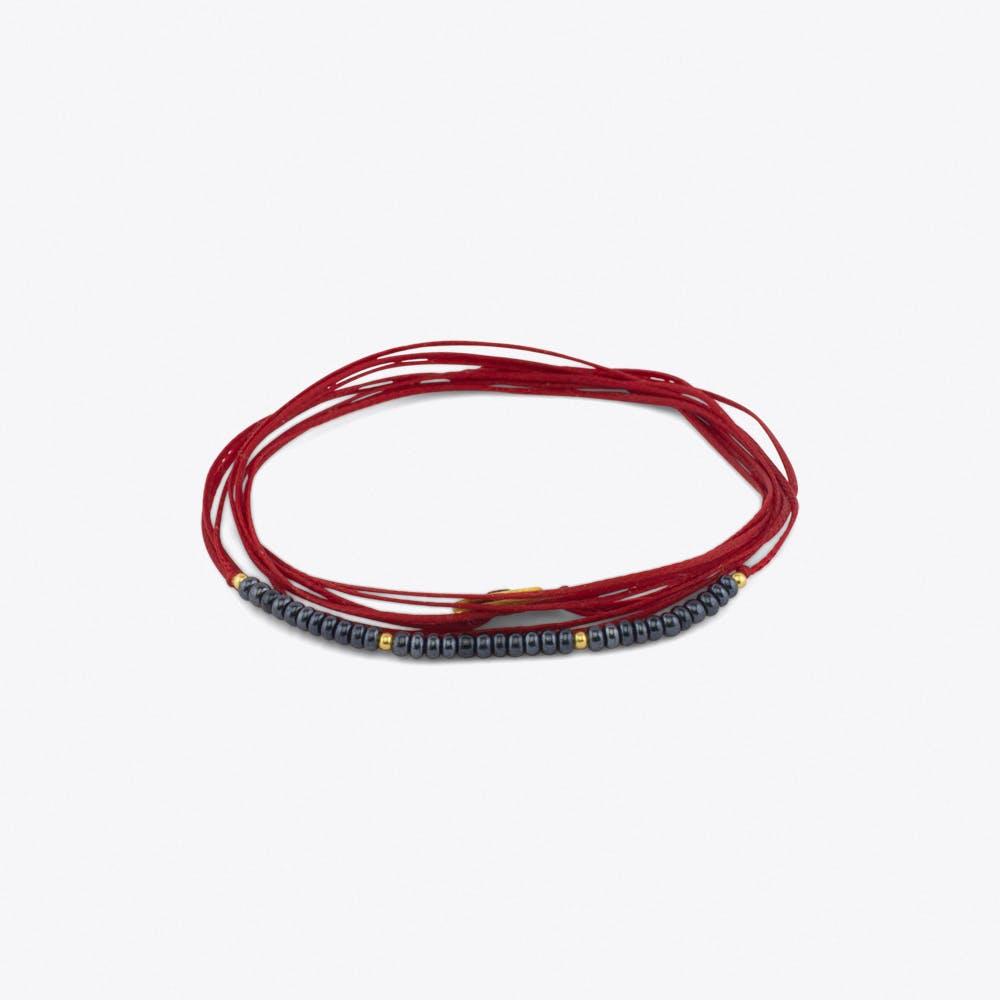 Cordella Bracelet in Red
