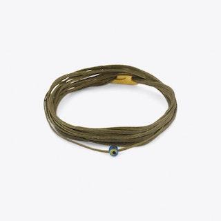 Athena Bracelet in Olive Green