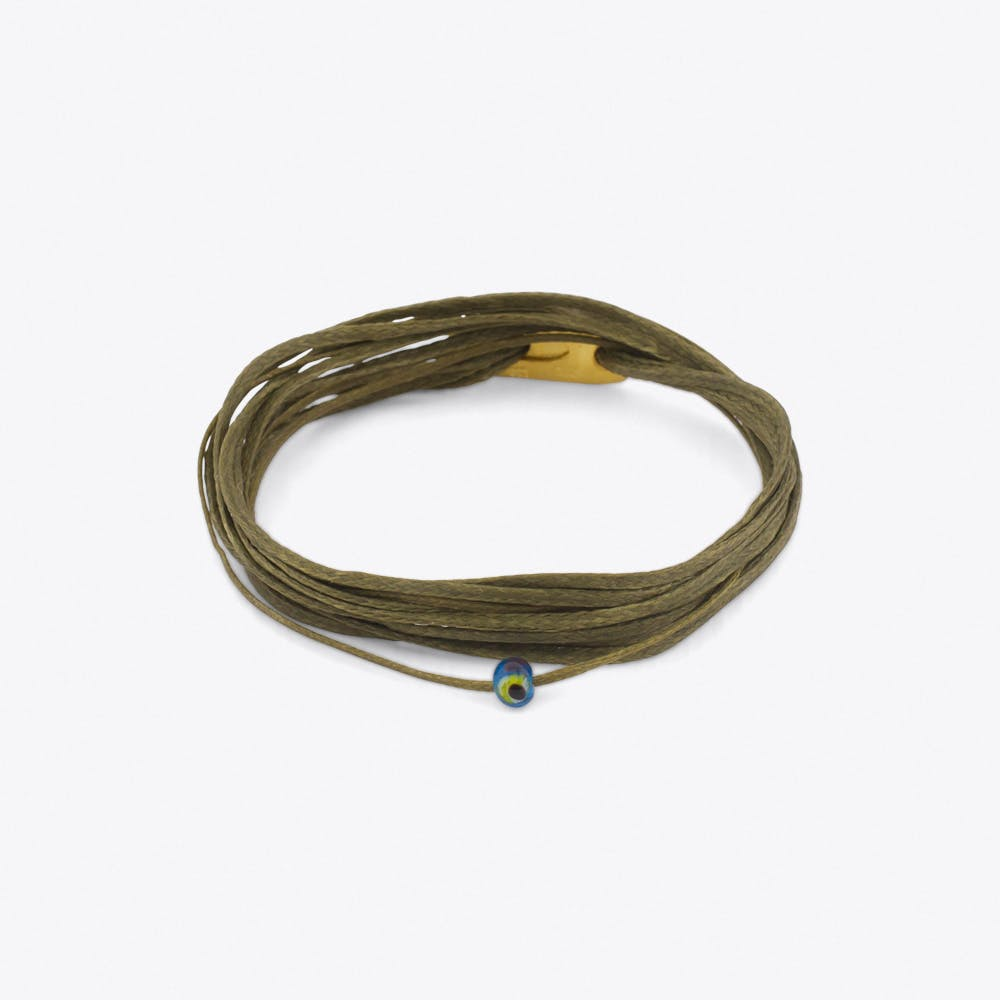 Athena Bracelet in Olive Green