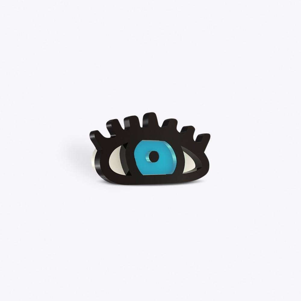 Blue Eye Brooch