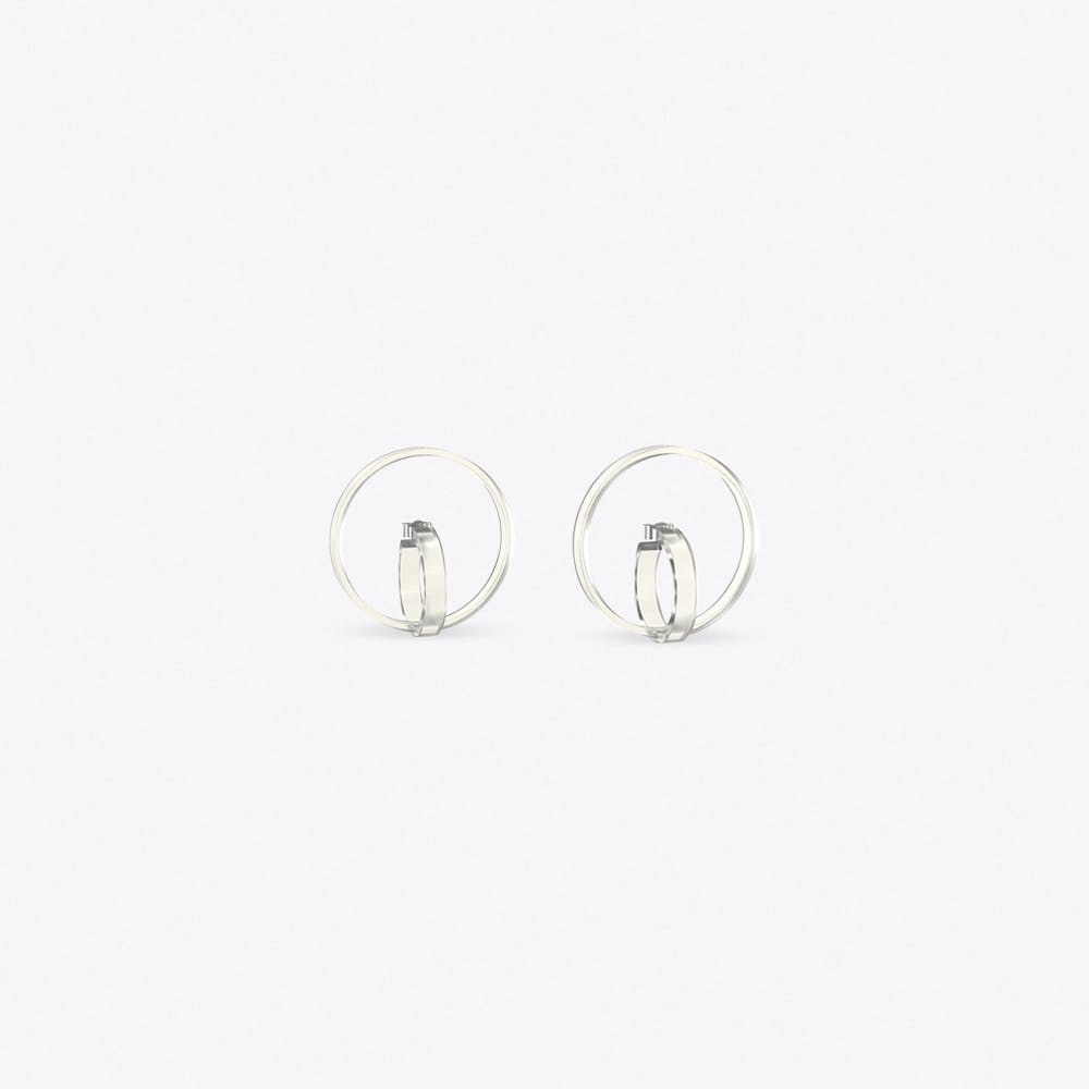 Air Circles Earrings