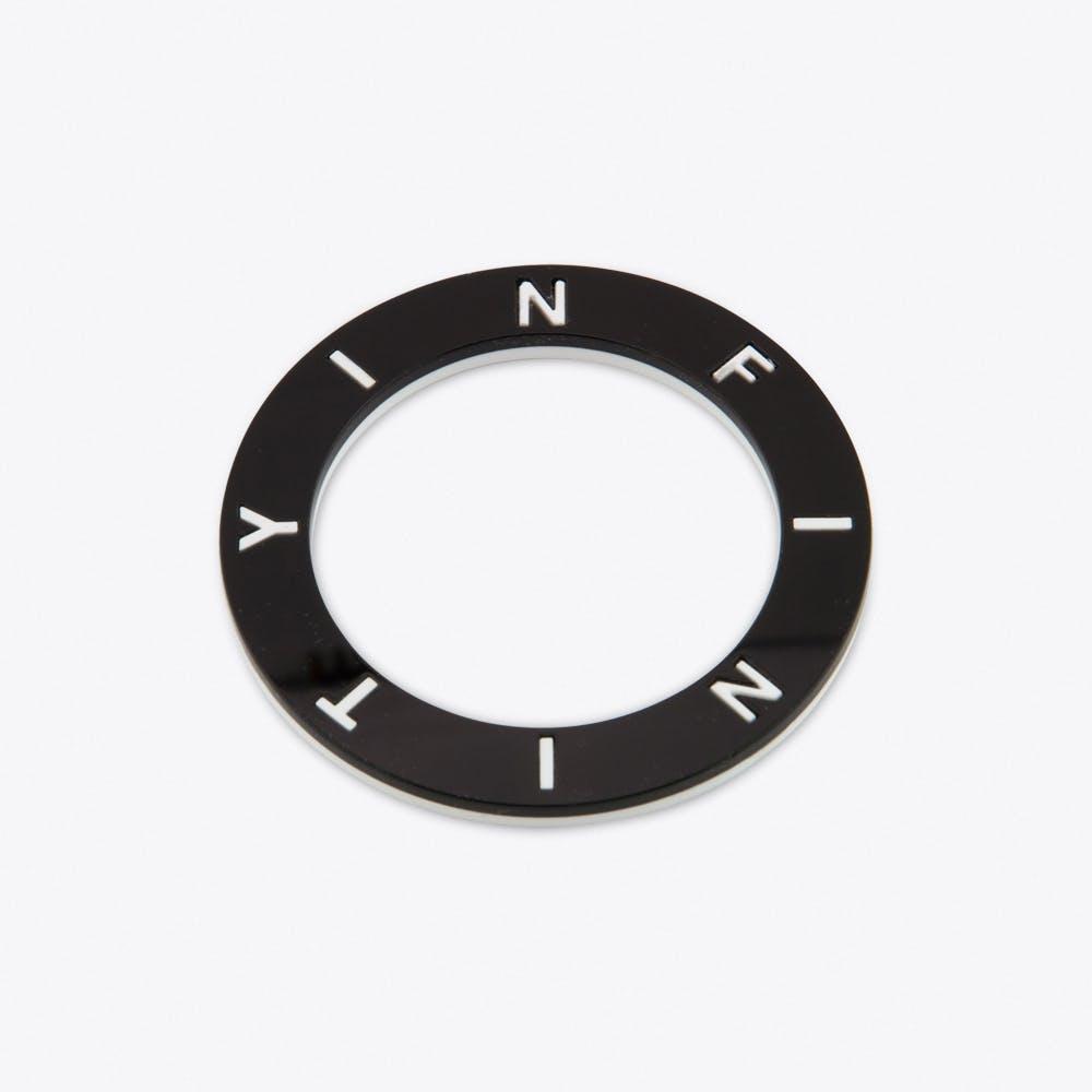 Black and White Infinity Bracelet