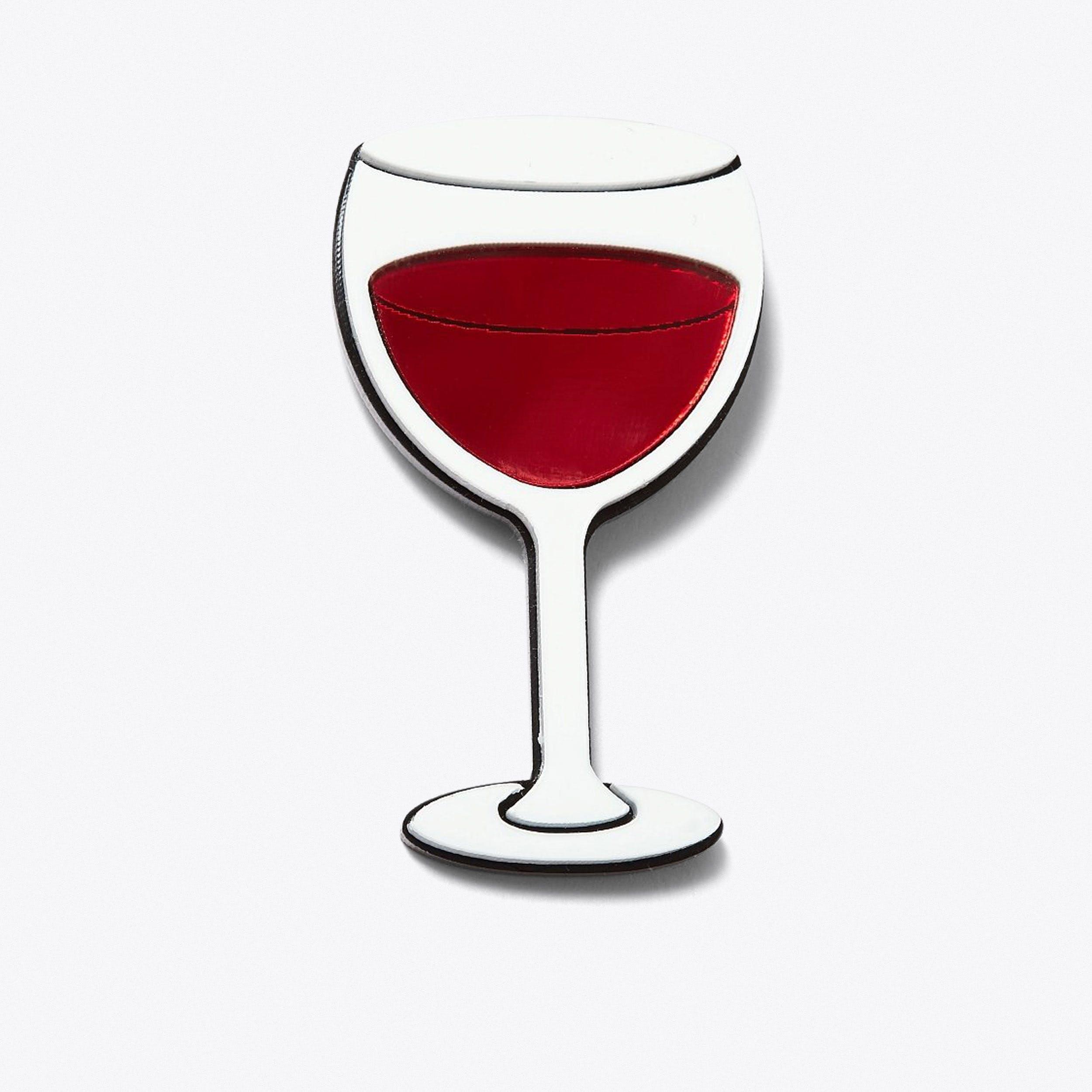 Wine Brooch