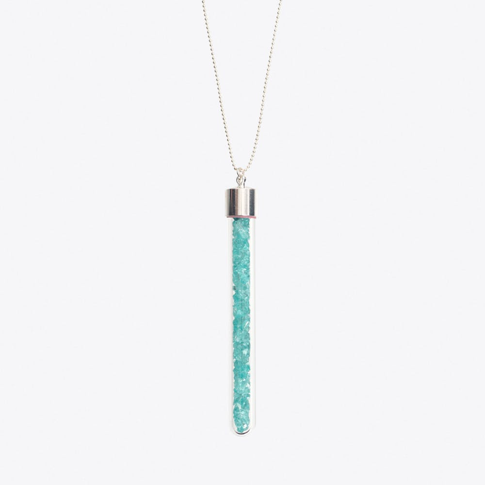 Shooting Star Necklace in Turquoise