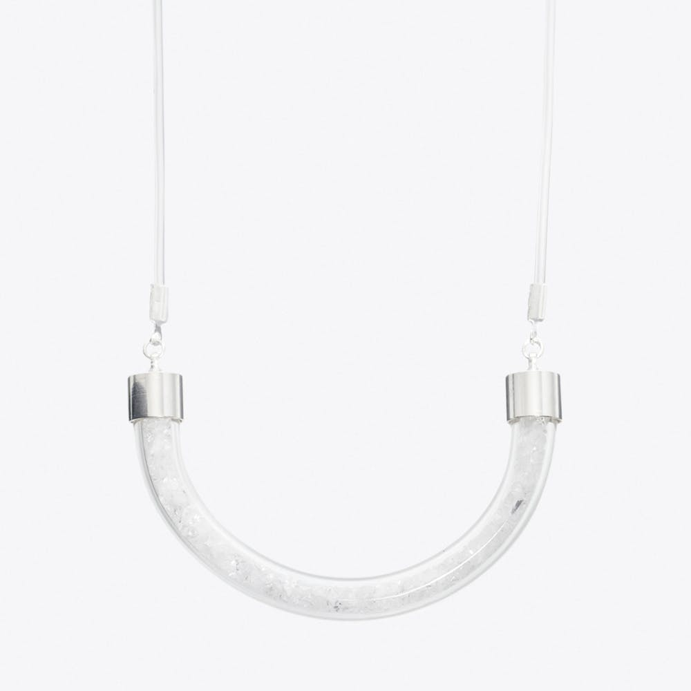 Stardust Necklace in Crystal Clear