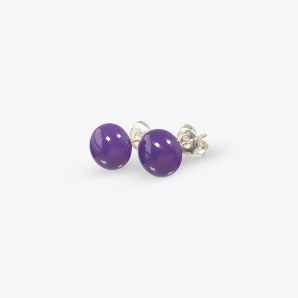Confetti Earring in Deep Lilac