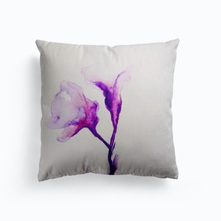 Purple Softness Canvas Cushion