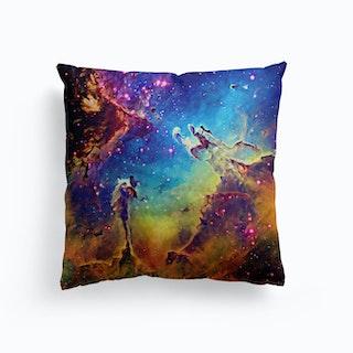 Pillars Of Creation Canvas Cushion