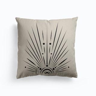Sunshine After Moonlight Canvas Cushion