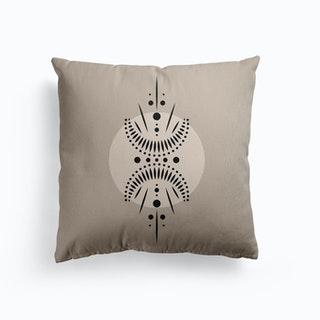 Half Moon Canvas Cushion
